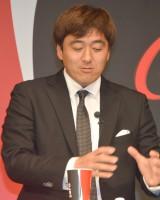 『コカ・コーラ ゼロ』フルリニューアル発売記念イベントに登壇した石井一久 (C)ORICON NewS inc.