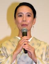 映画『あん』プレミアム試写会に出席した河瀬直美監督(C)ORICON NewS inc.