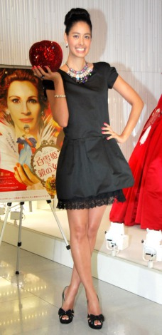 映画『白雪姫と鏡の女王』(9月14日公開)衣装展プレオープニングイベントに出席した森泉 (C)ORICON DD inc.