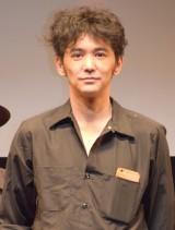 映画『ソレダケ/that's it』の初日舞台あいさつに出席した村上淳 (C)ORICON NewS inc.
