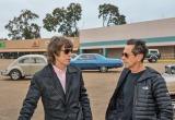 『ジェームス・ブラウン〜最高の魂(ソウル)を持つ男〜』で製作プロデューサーを務めたミック・ジャガー(左) (C)Universal Pictures(C)D Stevens