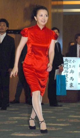 披露宴に参列した高橋由美子 (C)ORICON NewS inc.