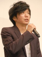 映画『おかあさんの木』完成披露舞台あいさつに出席した田辺誠一 (C)ORICON NewS inc.