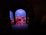 財宝の近くには、乱歩版『幽霊塔』に登場する、自ら作った地下迷宮から出られなくなった大富豪、渡海屋市郎兵衛の姿も…。東京・三鷹の森ジブリ美術館の企画展示『幽霊塔へようこそ展−通俗文化の王道−』より(C)Nibariki (C)Museo d'Arte Ghibli (C)Studio Ghibli (C)ORICON NewS inc.