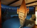 映画『ルパン三世 カリオストロの城』のジオラマが登場。原作:モンキー・パンチ(C)TMS 東京・三鷹の森ジブリ美術館の企画展示『幽霊塔へようこそ展−通俗文化の王道−』より(C)Nibariki (C)Museo d'Arte Ghibli (C)Studio Ghibli (C)ORICON NewS inc.