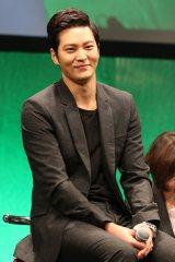 『のだめカンタービレ〜ネイル カンタービレ〜』Blu-ray&DVDリリース記念イベントに登壇した韓国俳優のチュウォン