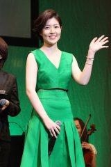 『のだめカンタービレ〜ネイル カンタービレ〜』Blu-ray&DVDリリース記念イベントに登壇した韓国女優シム・ウンギョン