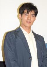 菊池亜希子とW主演した映画『グッド・ストライプス』初日舞台あいさつに登壇した中島歩 (C)ORICON NewS inc.