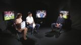 5月31日、『やべっちF.C.』で中田浩二氏(左)と柴崎岳(右)のスペシャル対談を放送(C)テレビ朝日