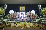今いくよさんが好きだった花で飾られた祭壇