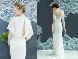 バックデザインにこだわった「ノバレーゼ」の新作ドレス
