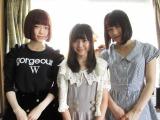 チームAが1位指名した樋渡結依の実家を訪れた島崎遥香(左)と横山由依 (C)AKS