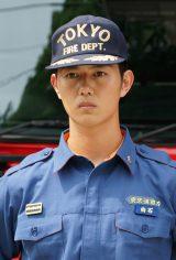 消防士役で出演する工藤阿須加(C)関西テレビ