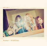 SCANDALニューシングル「Stamp!」「Stamp!」初回生産限定盤B