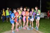 「ホノルル駅伝&音楽フェス2015」に出場したアップアップガールズ(仮)
