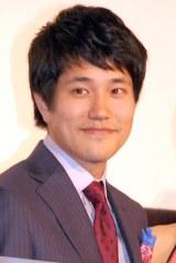 SABU監督に「好きです」と告白した松山ケンイチ(C)ORICON NewS inc.