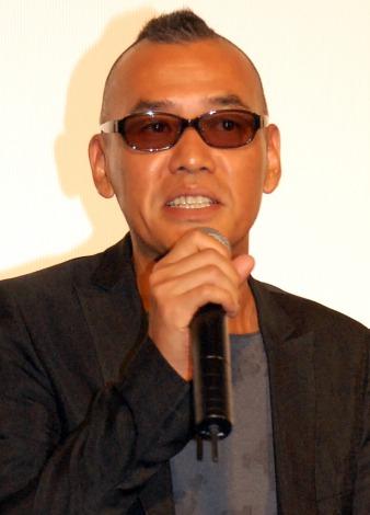 映画『天の茶助』完成披露舞台あいさつに出席したSABU監督(C)ORICON NewS inc.