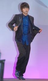 80年代の衣装で登場した窪田正孝=ドラマ『THE LAST COP/ラストコップ』完成披露試写会 (C)ORICON NewS inc.