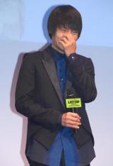 ドラマ『THE LAST COP/ラストコップ』完成披露試写会に出席した窪田正孝 (C)ORICON NewS inc.