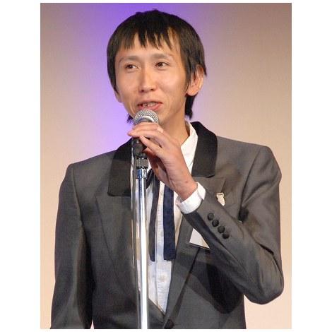 『第52回ギャラクシー賞』の贈賞式に駆けつけたアンガールズ・山根良顕 (C)ORICON NewS inc.