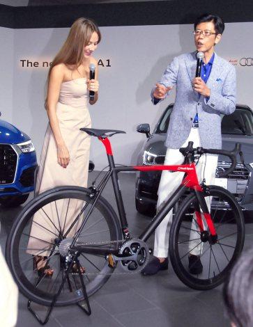 世界限定50台のAudiの自転車 価格は約250万円=『The new Audi Q3&A1』記者発表会(C)ORICON NewS inc.
