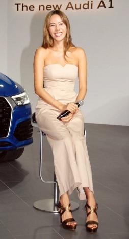 『The new Audi Q3&A1』記者発表会に出席した道端ジェシカ (C)ORICON NewS inc.
