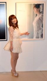 白のミニスカドレス姿で来場した浜崎あゆみ (C)ORICON NewS inc.