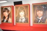 AKB48選抜総選挙ミュージアムに飾られている歴代女王の肖像画 (C)ORICON NewS inc.