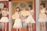 展示&参加融合型イベント『AKB48選抜総選挙ミュージアム』のオープニングセレモニーに出席した(左から)指原莉乃、高橋みなみ、宮脇咲良、柏木由紀 (C)ORICON NewS inc.