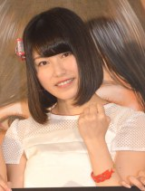 展示&参加融合型イベント『AKB48選抜総選挙ミュージアム』のオープニングセレモニーに出席した横山由依 (C)ORICON NewS inc.