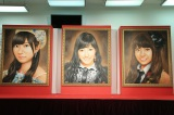 AKB48選抜総選挙ミュージアムに飾られている歴代女王の肖像画(C)AKS AKB48選抜総選挙ミュージアム