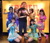 Gacharic Spinの新曲「Don't Let Me Down」発売記念イベントに天龍源一郎が登場(C)ORICON NewS inc.
