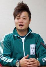 新番組『俺たちバカ社長』の記者会見を行ったバッドボーイズの佐田正樹 (C)ORICON NewS inc.