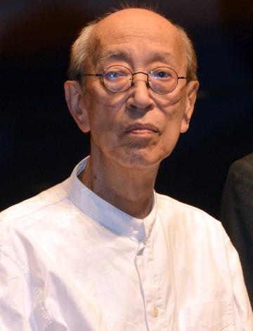 音楽劇『青い種子は太陽のなかにある』製作発表に出席した蜷川幸雄氏(C)ORICON NewS inc.