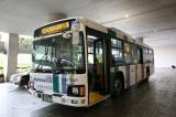 お披露目された総選挙当日臨時バス (C)AKS