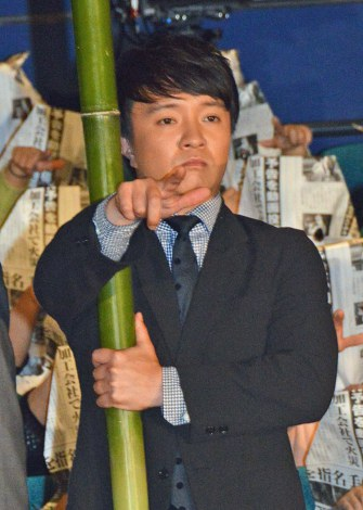 映画『予告犯』初日舞台あいさつに出席した濱田岳 (C)ORICON NewS inc.