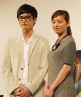 『きみはいい子』プレミア試写会に出席した(左から)高良健吾、尾野真千子 (C)ORICON NewS inc.