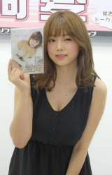 DVD『HOLIDAY』発売記念イベントに出席した篠崎愛 (C)ORICON NewS inc.