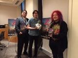 ゾンビ作品に詳しい3人で座談会を敢行(左から)ジャンクハンター吉田氏、伊東美和氏、高橋ヨシキ氏
