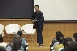 NHK・BSプレミアムのドラマ『ボクの妻と結婚してください。in 立教大学』波田陽区がゲスト出演 (C)NHK