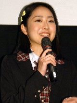 映画『呪怨 −ザ・ファイナル−』女子高生限定試写会に出席した松浦雅(C)ORICON NewS inc.