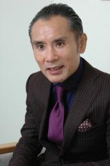 第6回『お笑いハーベスト大賞』で審査委員長を務める片岡鶴太郎