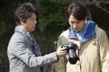 『松本清張サスペンス 影の地帯』に出演する(左から)上川隆也、谷原章介 (C)TBS