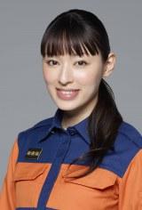 関西テレビ・フジテレビ系連続ドラマ『HEAT』(毎週火曜 後10:00)でヒロインを演じる栗山千明(C)関西テレビ