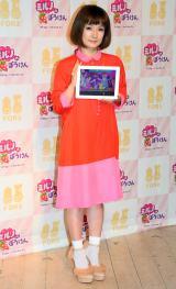 童話アプリ『ミルノのぼうけん』の完成披露イベントに出席した千秋(C)ORICON NewS inc.