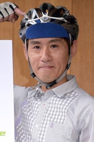 「自転車ヘルメット委員会」発足記者会見に出席したシャ乱Qのまこと(C)ORICON NewS inc.