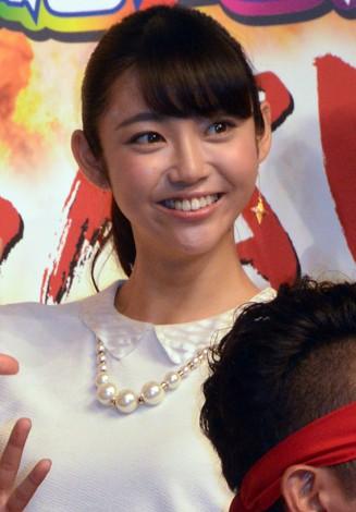 顔の肌がきれいな山谷花純さん