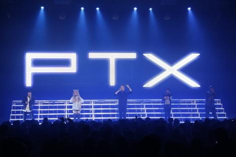 男女5人組アカペラグループ・ペンタトニックスが初の単独ジャパンツアー開幕 (C)Yoshika Horita