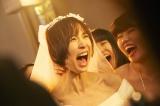 映画『リアル鬼ごっこ』でアクションや絶叫シーンに挑戦した篠田麻里子 (C)2015「リアル鬼ごっこ」学級委員会