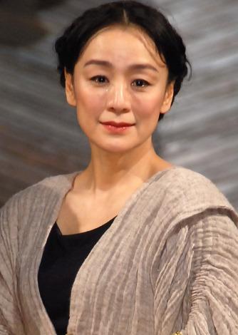 舞台『メアリー・ステュアート』開幕直前会見に出席した神野三鈴(C)ORICON NewS inc.